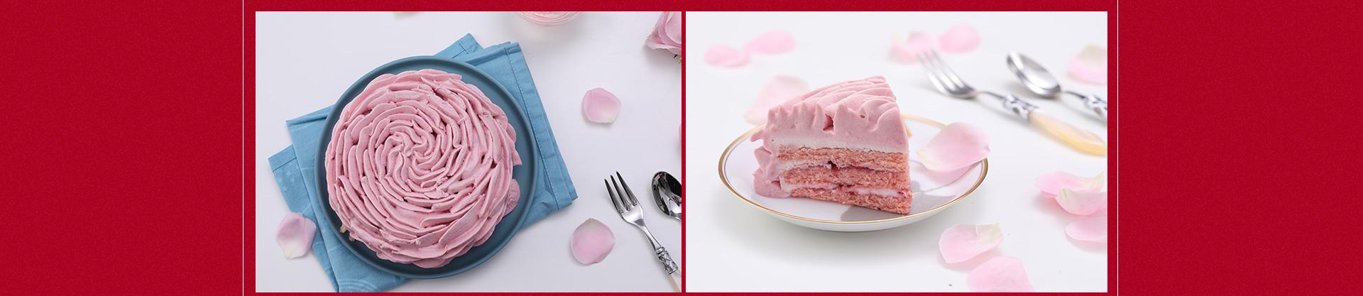 ebeecake小蜜蜂蛋糕 我愿意|玫瑰荔枝慕斯蛋糕