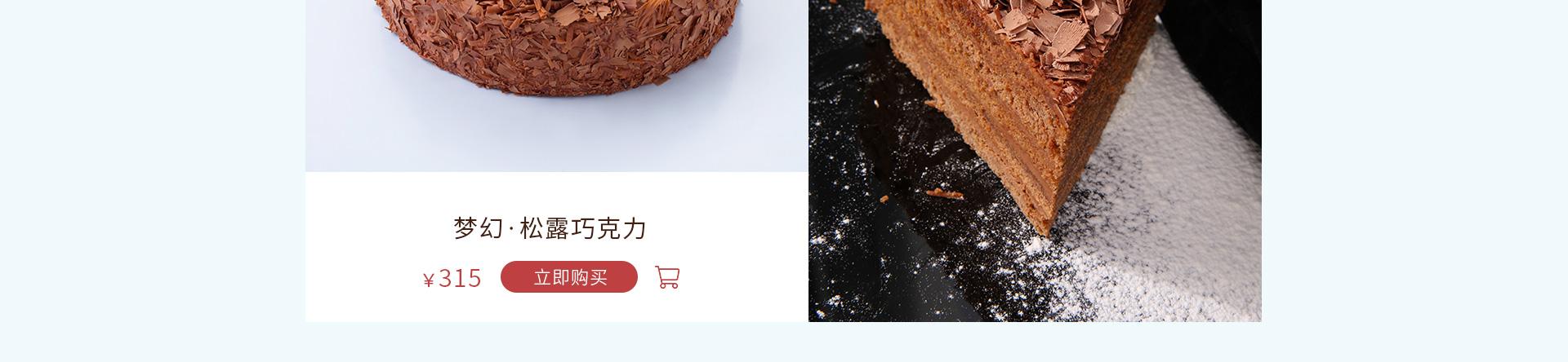 梦幻|松露巧克力蛋糕 在线订购