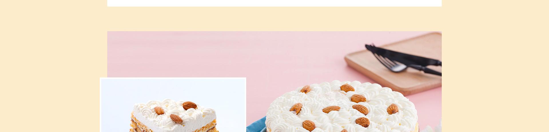 相伴|奶油杏仁蛋糕