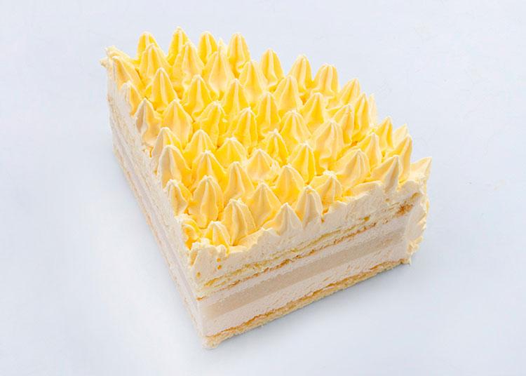 流连|榴莲慕斯蛋糕