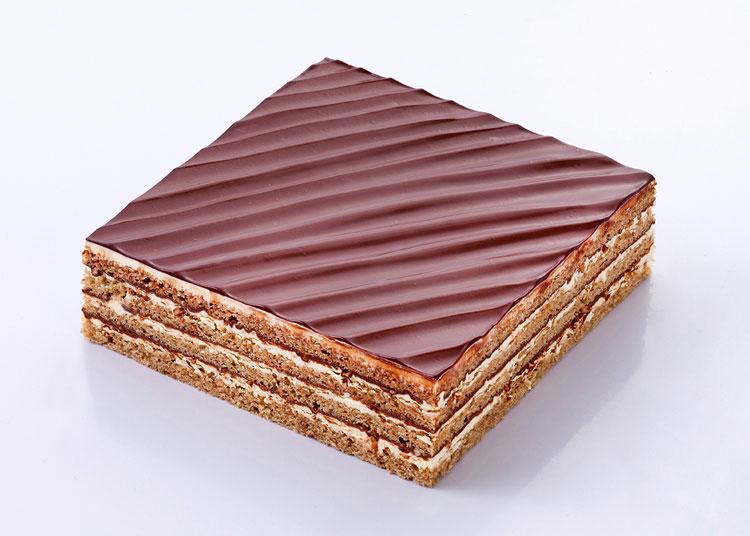 经典|坚果巧克力蛋糕
