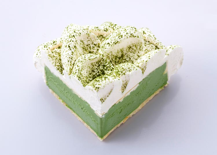 嫣然|抹茶冰激凌蛋糕