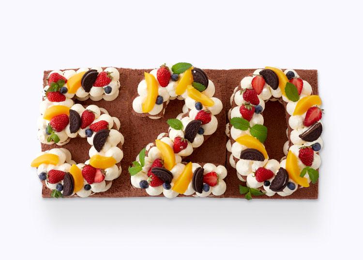 数字水果蛋糕