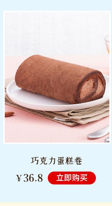 巧克力蛋糕卷(大)