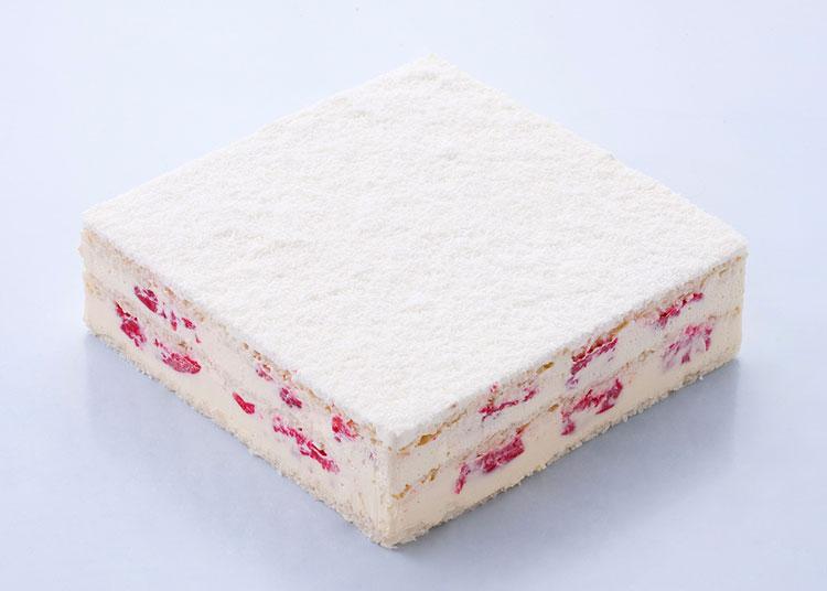 向往 酸樱桃椰蓉蛋糕