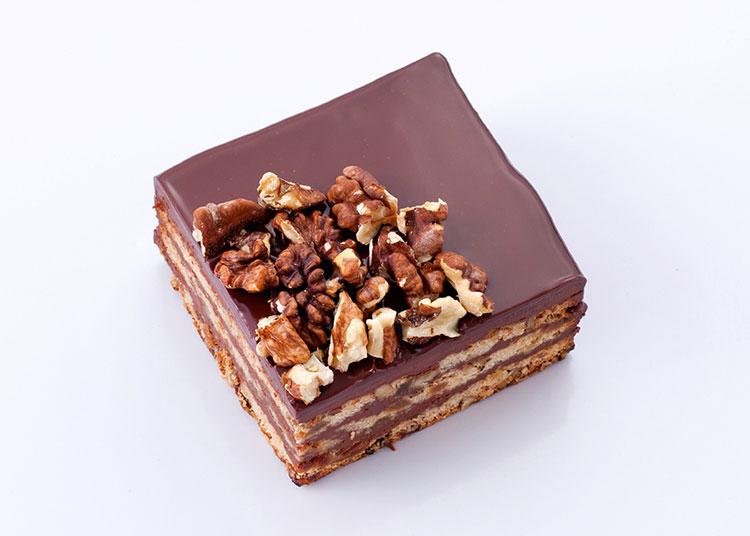 回味 枫糖威士忌坚果巧克力蛋糕