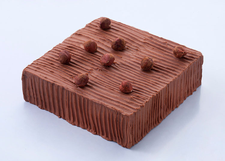 榛爱|黑巧克力榛子蛋糕