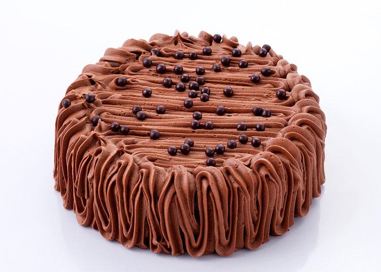 深爱 巧克力冰激凌蛋糕