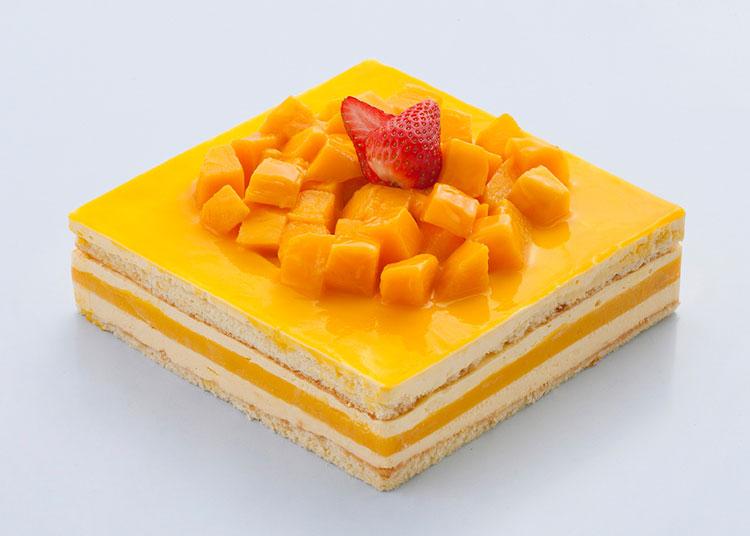 珍贵|芒果慕斯蛋糕