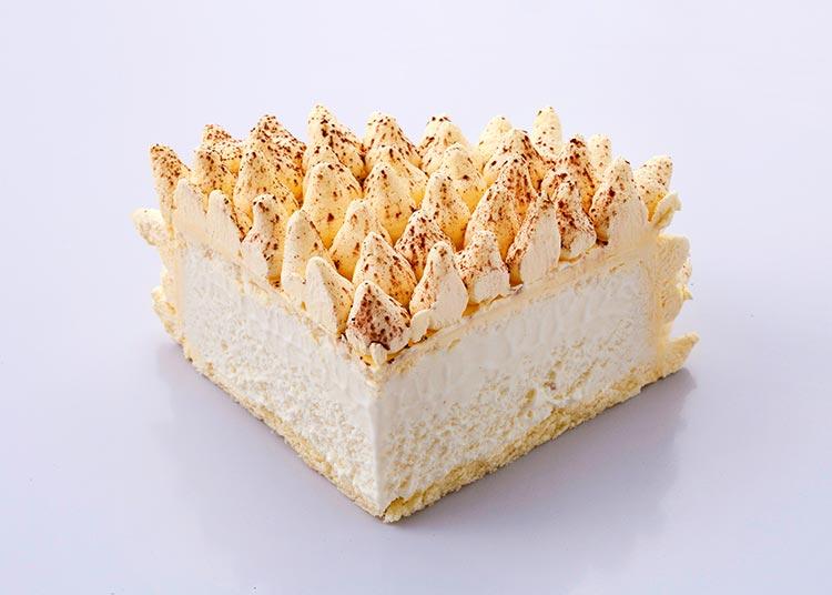 遇见 榴莲冰激凌蛋糕