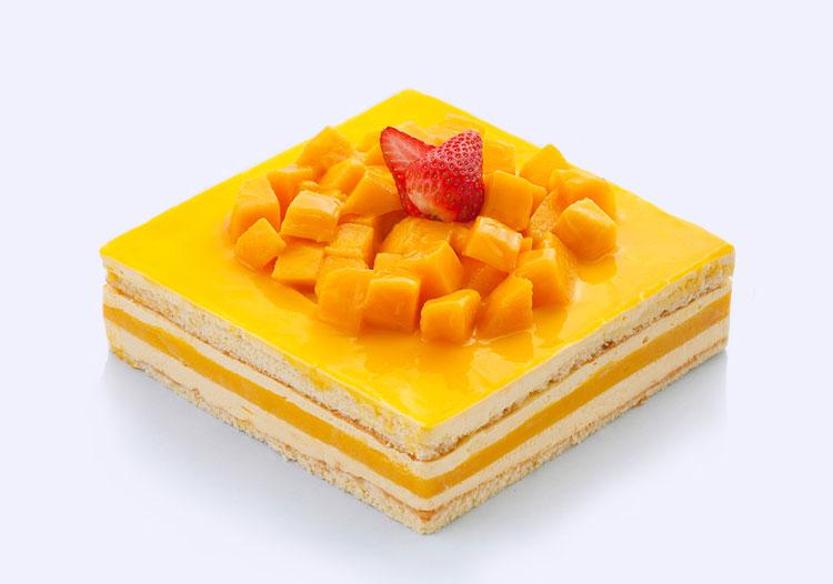 珍贵|芒果慕斯蛋糕 ebeecake 小蜜蜂蛋糕