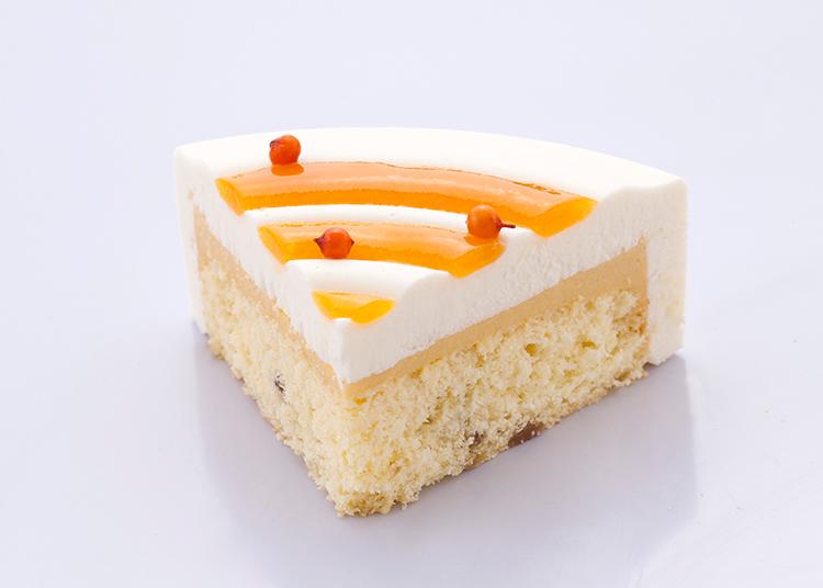 珍味|沙棘任小米蛋糕