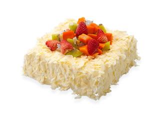 水果缤纷米蛋糕