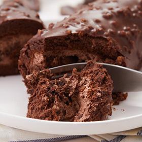 梦龙巧克力榛子蛋糕卷